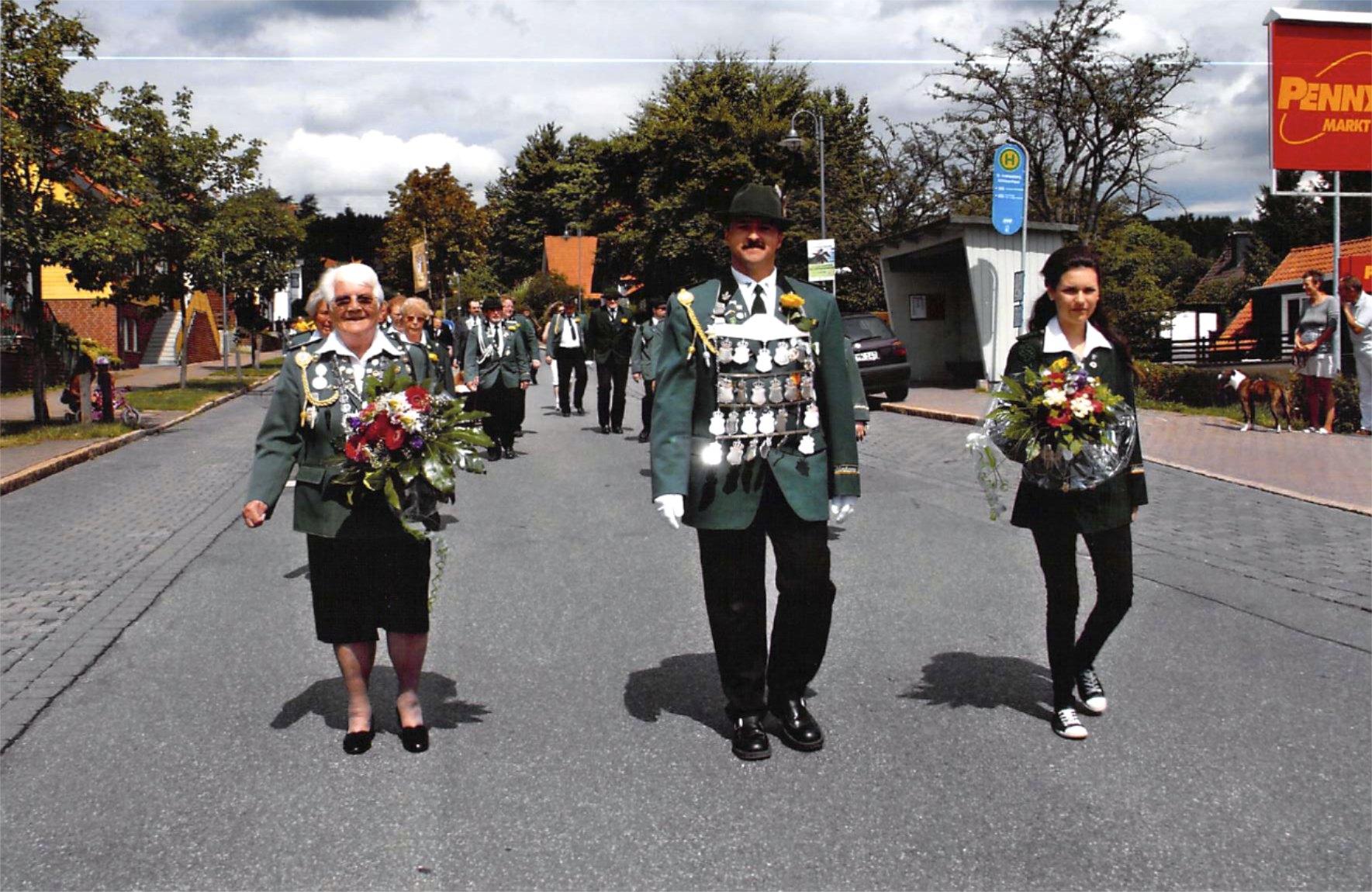Schützenkönige 2009