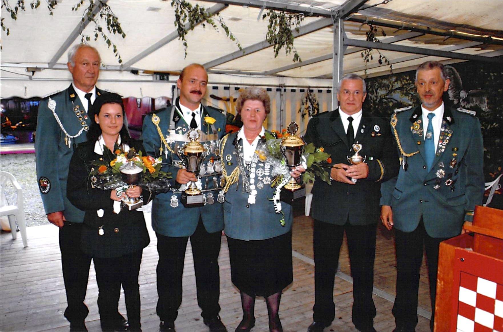 Schützenkönige 2010