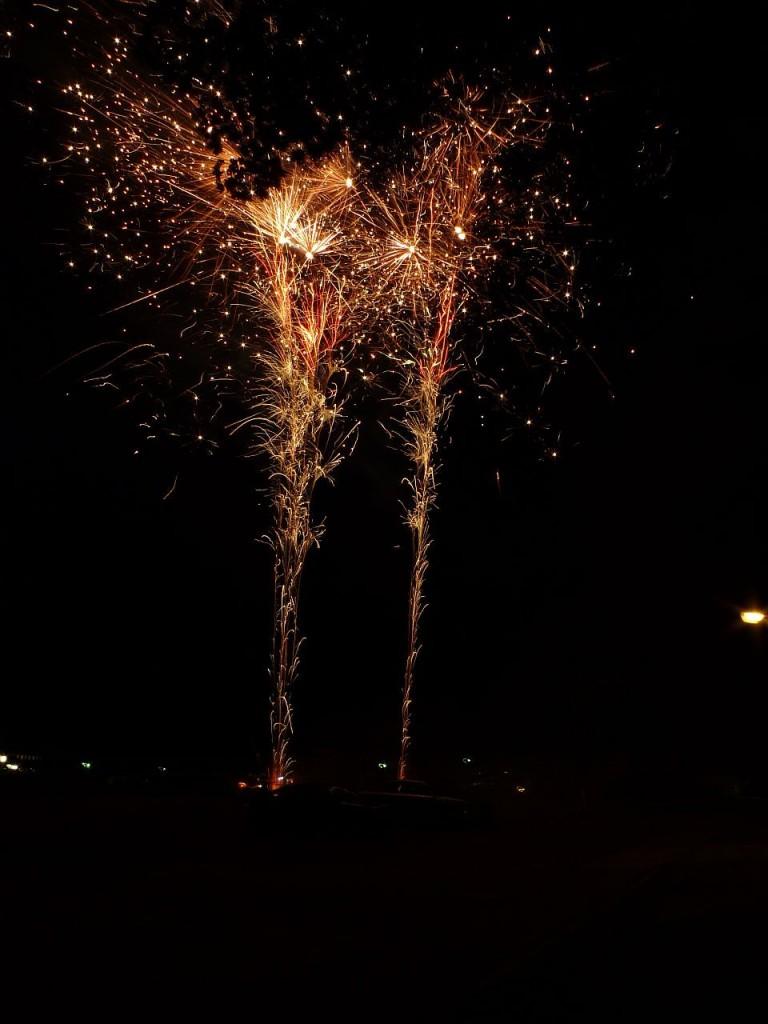 Abschließendes Feuerwerk
